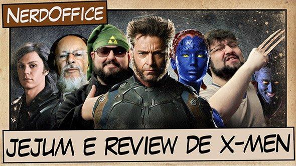 Jejum e Review de X-Men