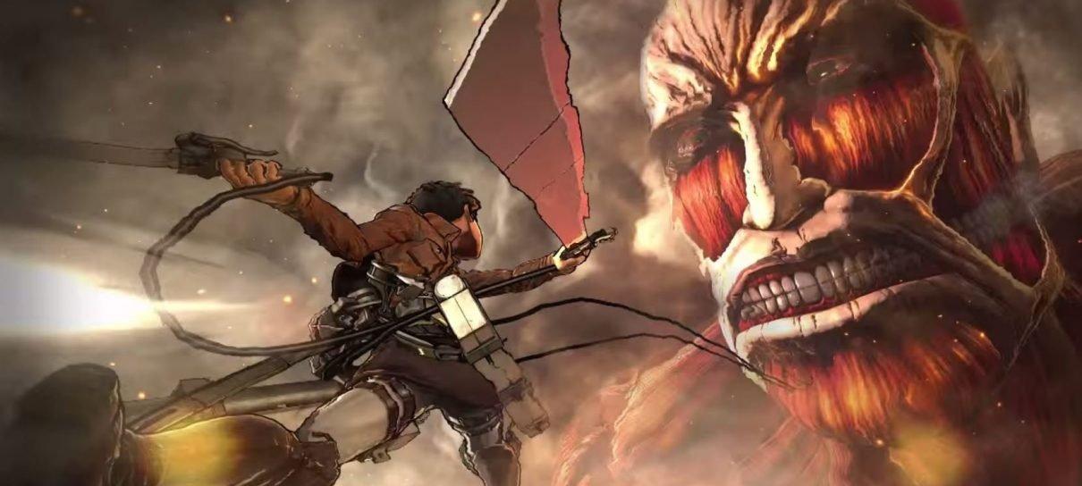 Koei Tecmo mostra a versão do jogo Attack on Titan para PS3 e PS Vita