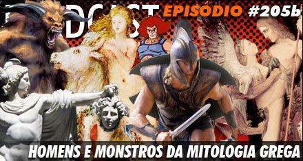 Homens e Monstros da Mitologia Grega