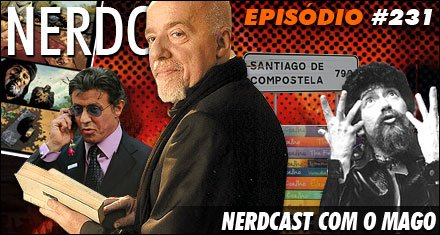 Paulo Coelho – Nerdcast com o Mago