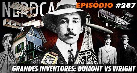 Grandes inventores: Santos Dumont vs irmãos Wright