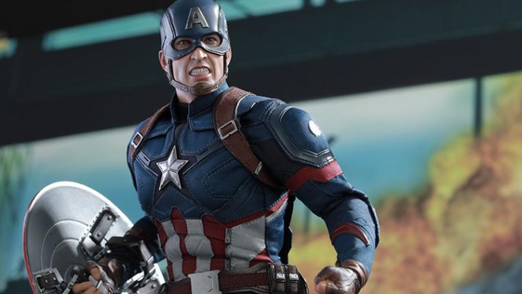 Figures de Capitão América e Homem de Ferro entram em guerra pela sua carteira