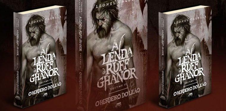 Veja a capa e o título de A Lenda de Ruff Ghanor volume II!