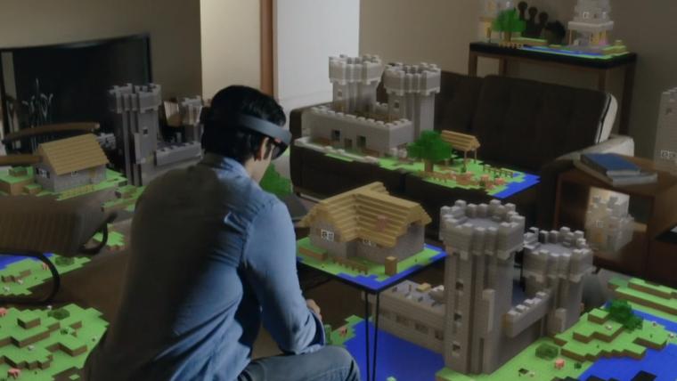 [E3] Microsoft faz mais uma demonstração da HoloLens