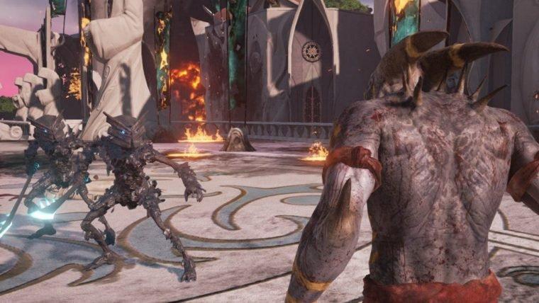 Remake de Shadow of the Beast tem ação brutal e muito sangue