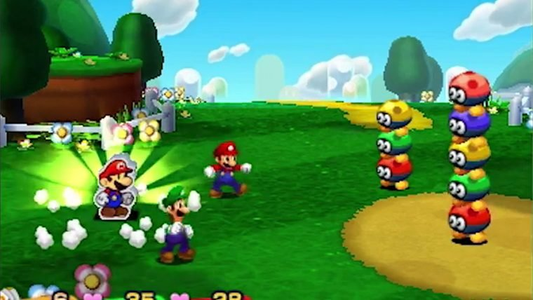 Assista ao novo trailer de Mario & Luigi: Paper Jam