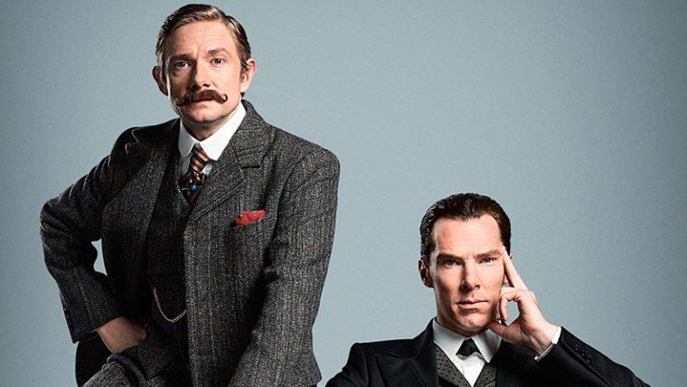 Confira o primeiro vídeo do especial de Sherlock