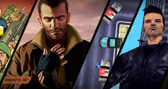 GTA: o grande fora da lei!