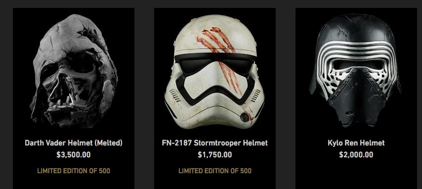Star Wars | Lucasfilm anuncia linha de colecionáveis de luxo da saga