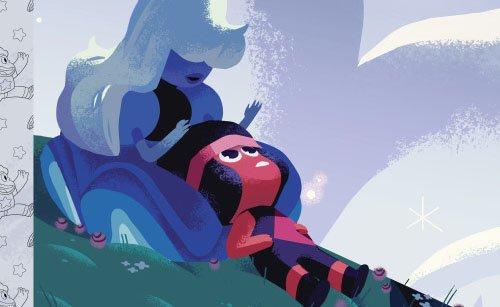 Steven Universo | História de Ruby e Sapphire será contada em livro infantil