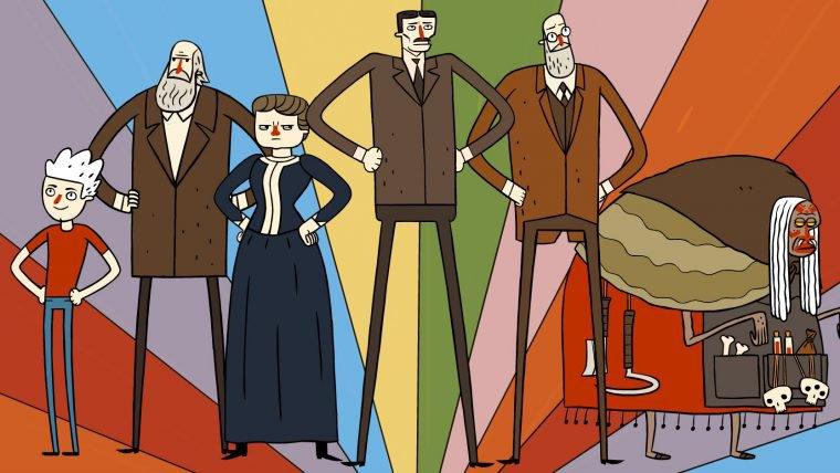 Super Science Friends imagina cientistas famosos como super-heróis