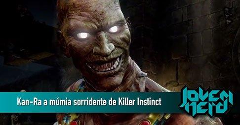 Kan-Ra a múmia sorridente de Killer Instinct