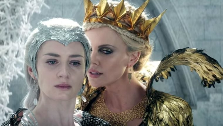 Confira o novo trailer de O Caçador e a Rainha do Gelo