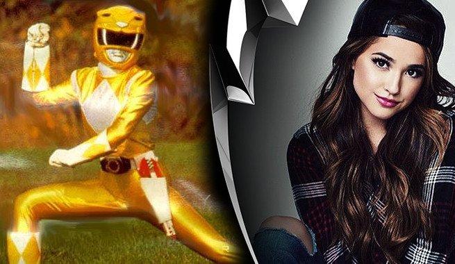 Becky Gomes é a nova ranger amarela no novo filme dos Power Rangers