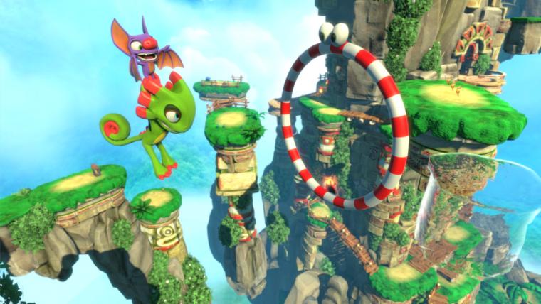 Yooka-Laylee | Confira o primeiro vídeo de gameplay